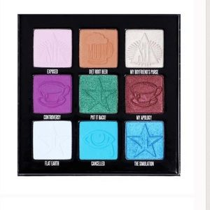 Jeffree Star Makeup - Mini Controversy Palette with PUT IT BACK!